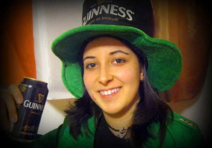 record a testimonial, video message or funny video as an irish leprechaun