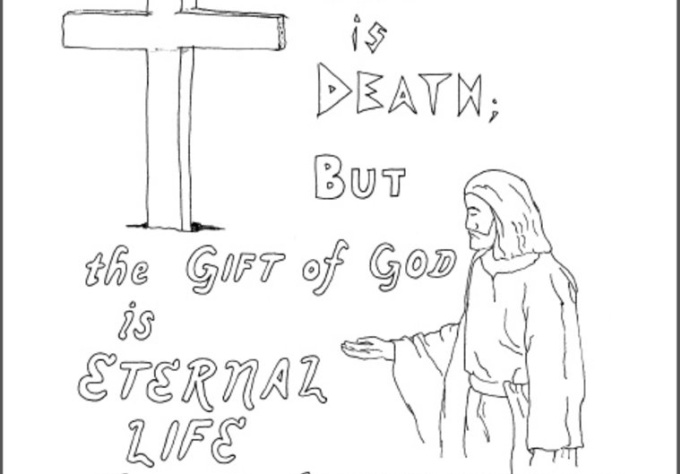 kjv coloring pages - free coloring pages of romans 5