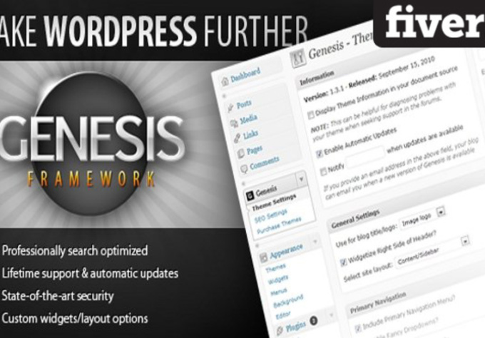 install TurnKey GENESIS Framework WordPress Site