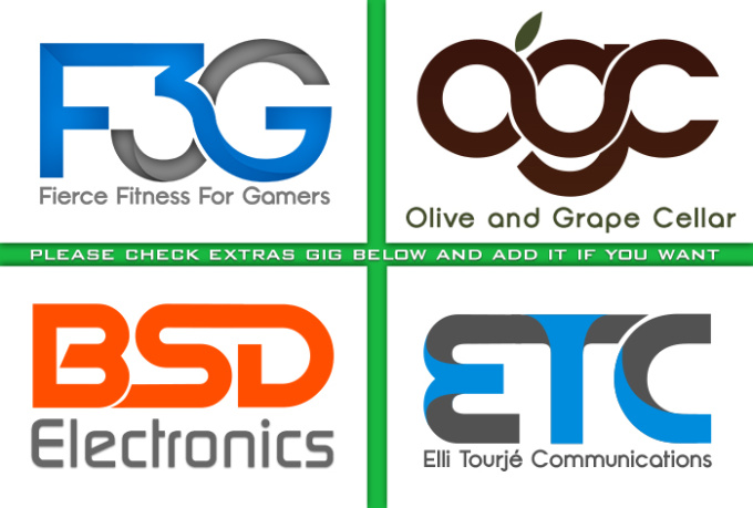 do a logo in 2D or 3D