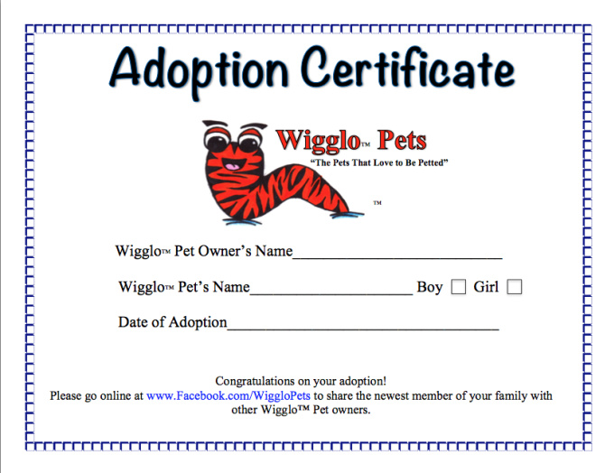 send you a Wigglo  Pet