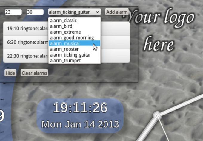 create for you  customized alarm clock app