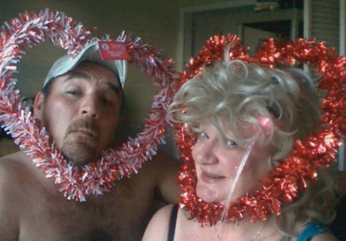 make a VALENTINES day valentine redneck greeting card testimonial couple fun
