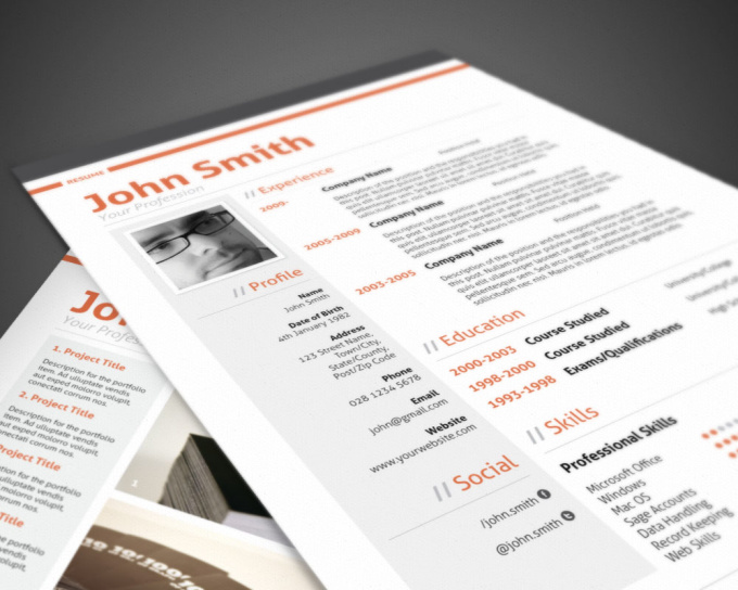 convert your cv into swiss style resume fiverr