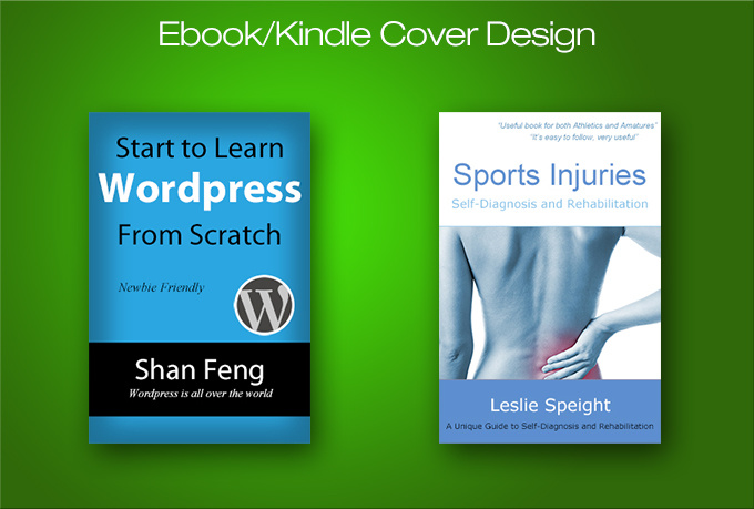 Kindle Book Cover Design Service ~ Create a professional and effective ebook kindle cover