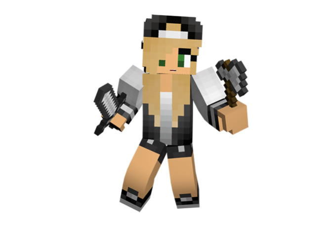 how to make your minecraft skin 3d