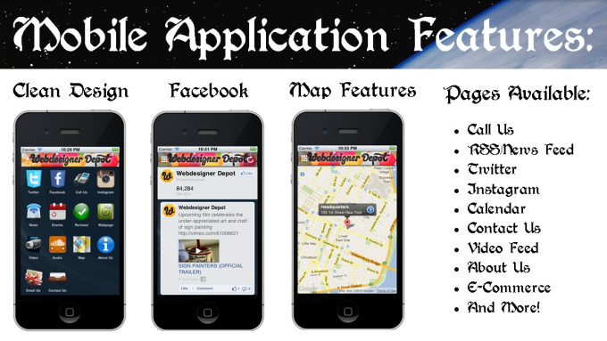 make your website into a complete mobile app and publish it