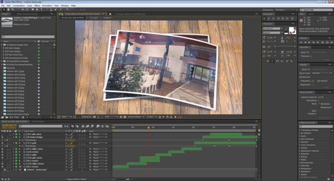 Editing Effects Edit After Effects Templates