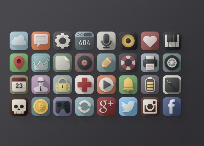 design iPhone app ICON fiverr