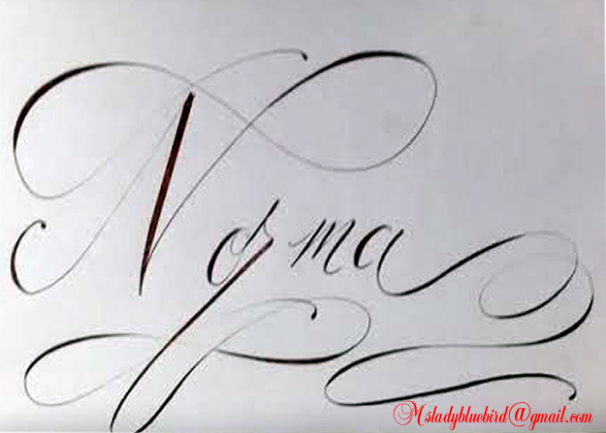 HD wallpapers make your name in cursive writing