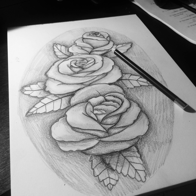 illustrate custom tattoo designs fiverr. Black Bedroom Furniture Sets. Home Design Ideas