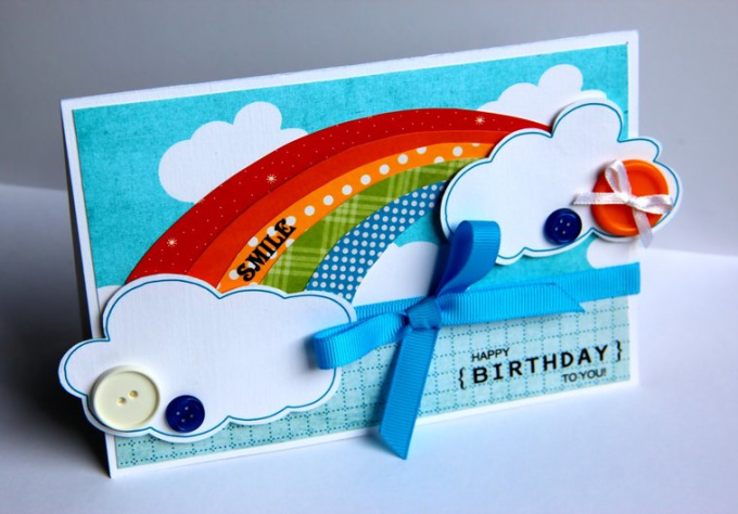 make a handmade greeting card for your loved one just