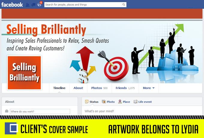 design a PROFESSIONAL Facebook Fanpage Timeline Cover Photo