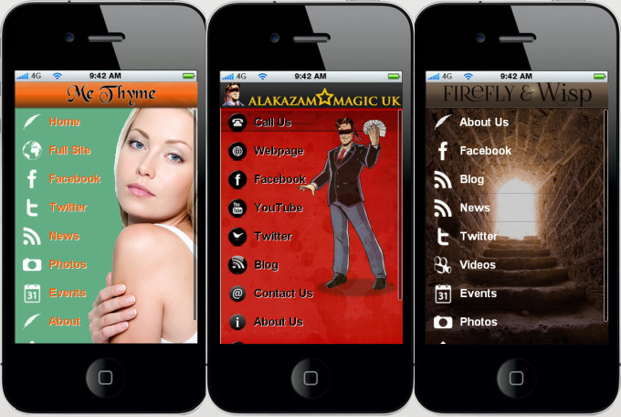 build iPhone and Android MOBILE app for your Business