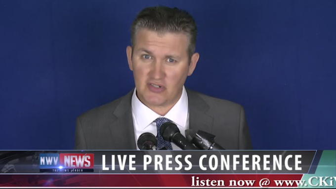 CKiW76 dot com press conference