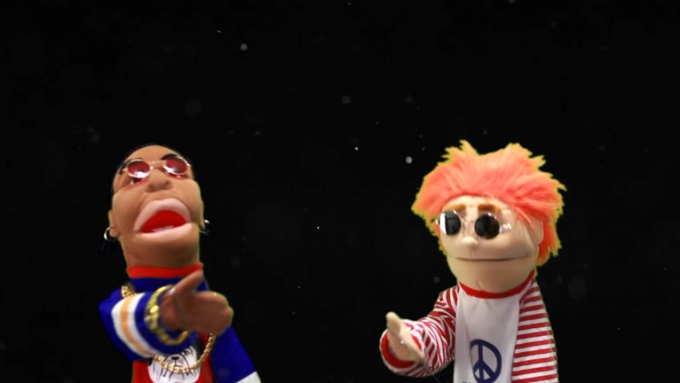 Puppets sing collab gig for asafpo E