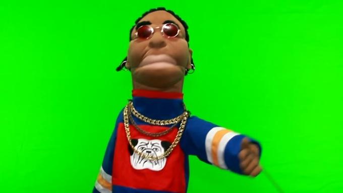 Puppets HALLOWEEN gig for deedeerussell B REDOmp4
