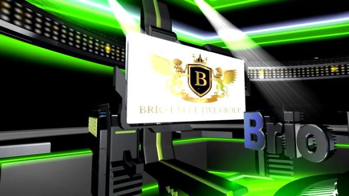 3D Arena Slides Presentation Video jordam01