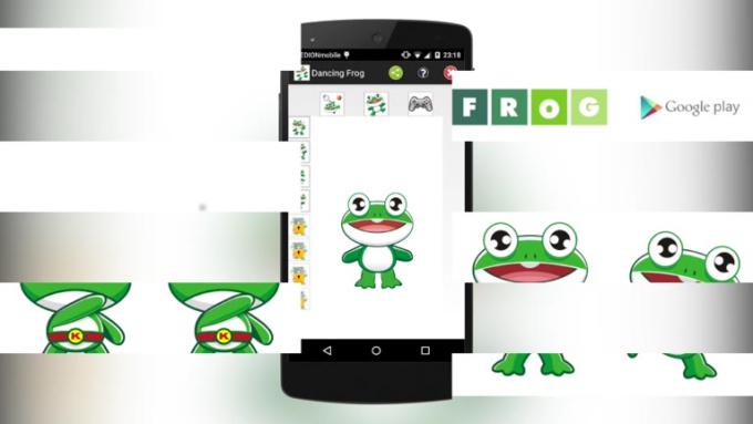 Talking Frog Dancing