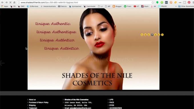 shades of the nile virtual mirror tool