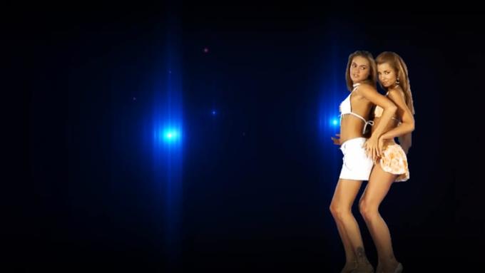 two girls dance no audio no logo 1080p