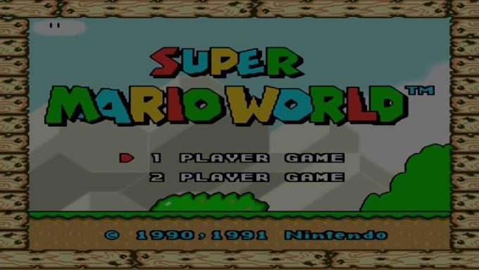 Super Mario World HD