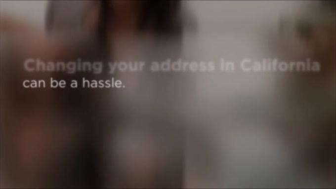 change of address online