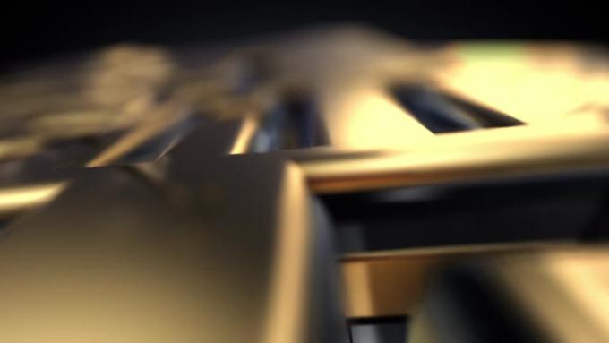3D Gold Intro Mk2 LoREZ