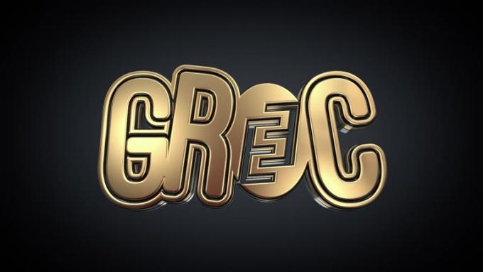 3D Gold Logo Intro HiREZ
