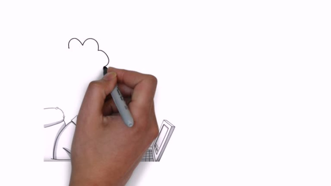 Engaging whiteboard video and do voice over