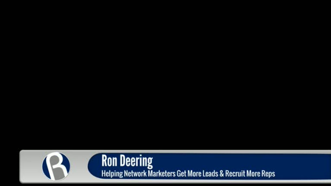 Ron lower third animation