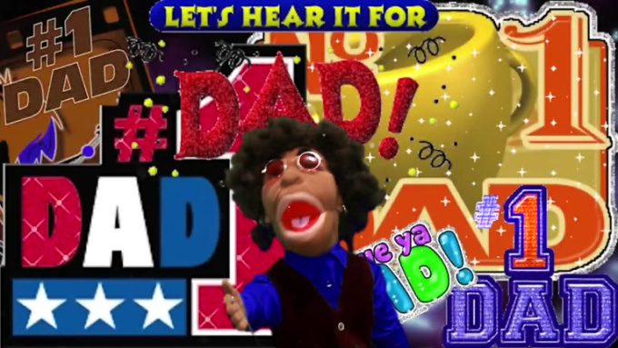 Puppets FathersDay gig for nadarrasen D