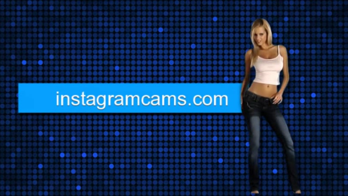 cool girl blonde dance instagramcams 720p