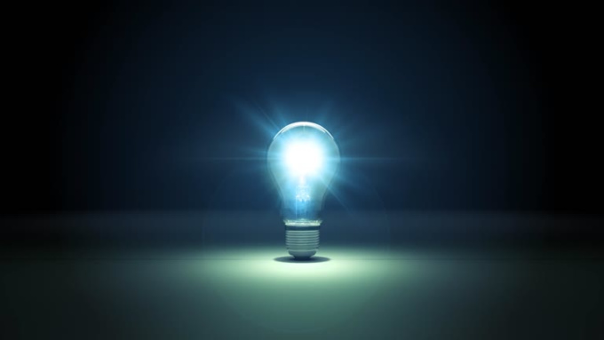 One Simple Idea Light Bulb Explosion Intro Video in 1080p Full HD High Quality