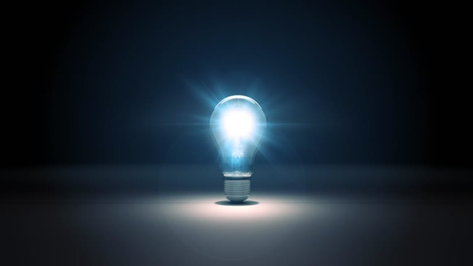 Virtual HQ Light Bulb Explosion Intro Video in 1080p Full HD High Quality Modified