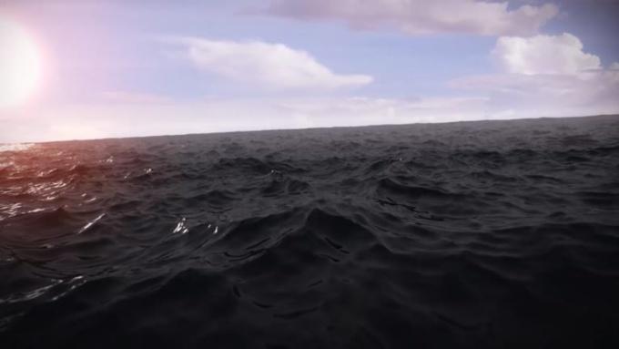 Sillouette - Ocean Water DAYLIGHT SFX AEII - Fiverr