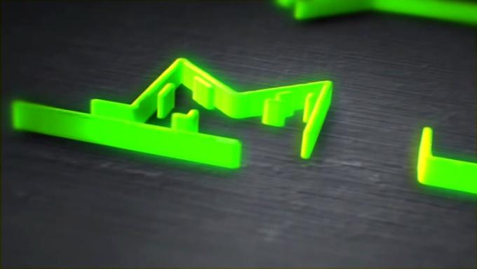 MTV 3D logo intro Video