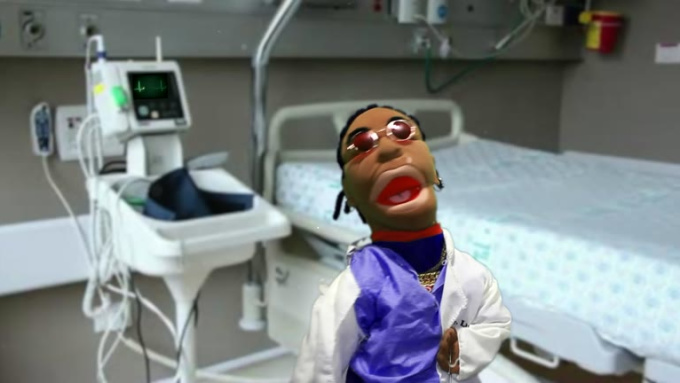 dr Puppet message GIG FOR bridgetdahlgren C