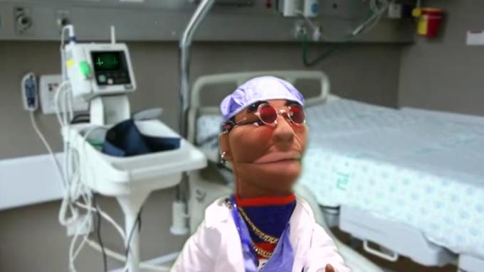 Puppets Dr gig for tordenviking C