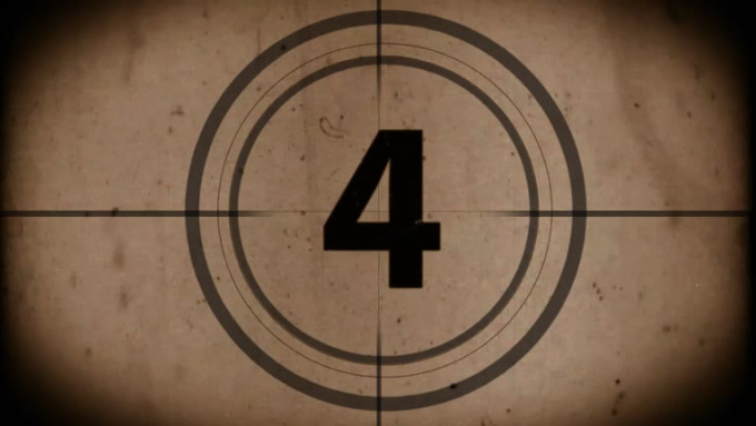 Blank Countdown Footage_3