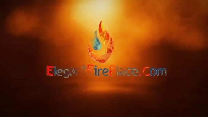 Logo Intro For Elegant Fire Work