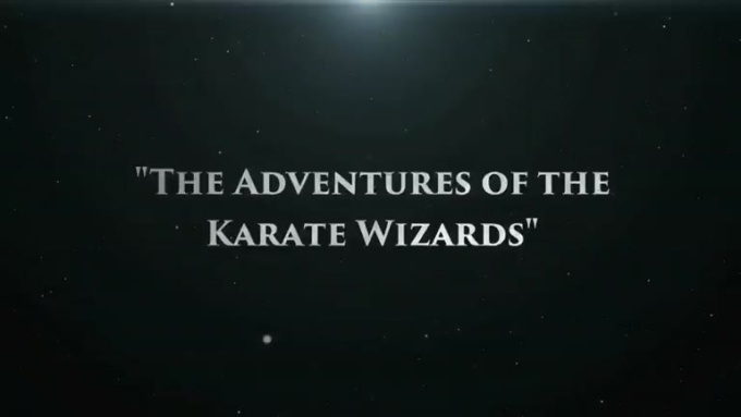 The Adventures of the Karate Wizards - Magical Intro