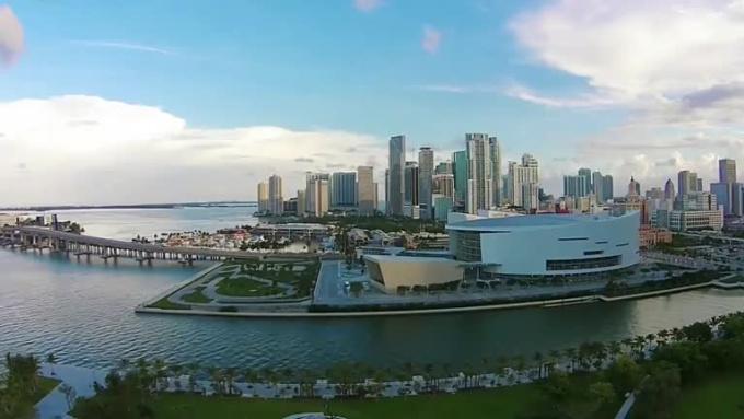 Miami Skyline 1080p HD