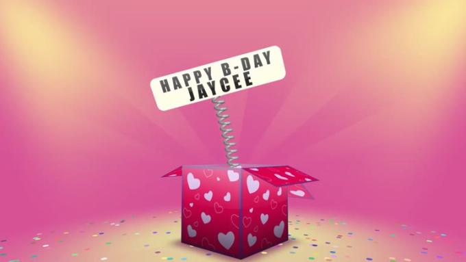 happy b-day jaycee