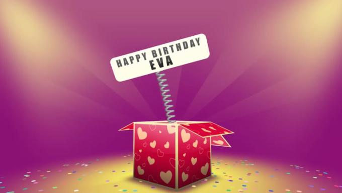 happy b-day eva
