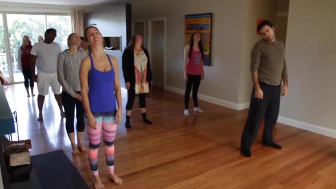 nsw yoga retreats beach video