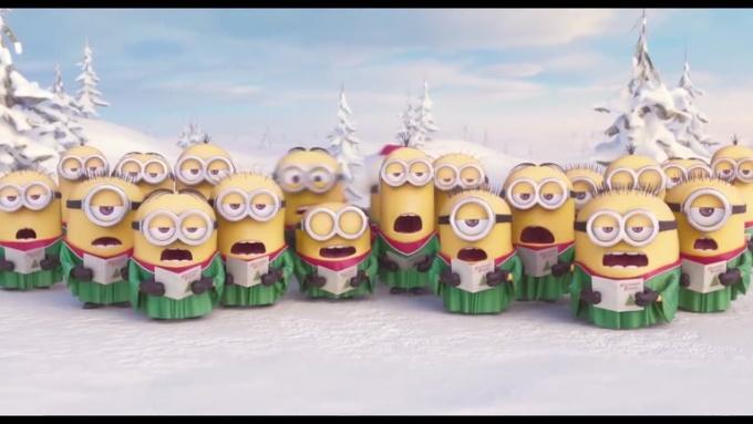MINIONS Christmas 1080p