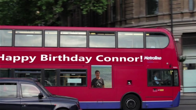 Happy birthday Connor !