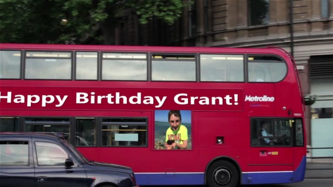 Happy birthday Grant !