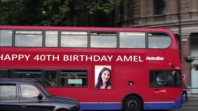 HAPPY 40TH BIRTHDAY AMEL